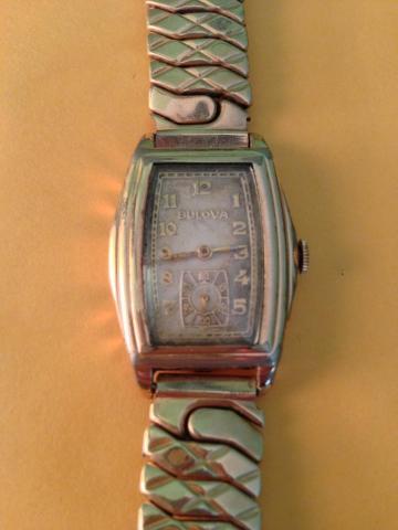 1935 Bulova Ranger watch