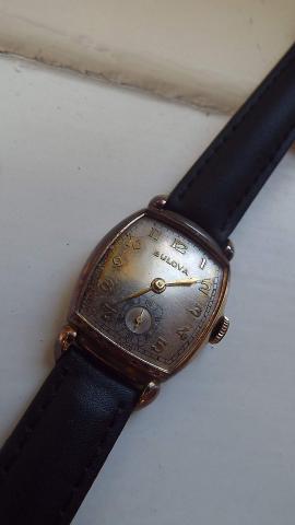 1945 Minute Man Bulova watch