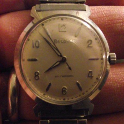 Jet Clipper 1962 Bulova watch