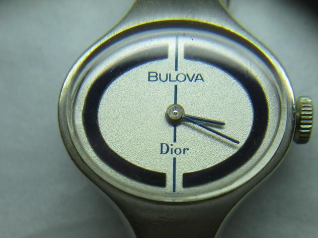 1972 Dior Bulova watch