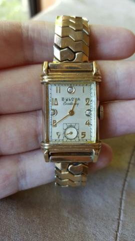 1950 Bulova His Excellency KK watch