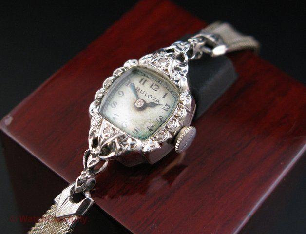 1947 Bulova Anita watch