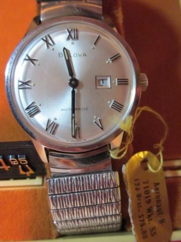 1968 Bulova Aeronaut H watch