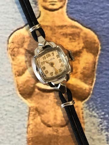 1951 Bulova Academy Award CC watch