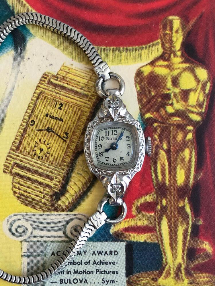 1951 Bulova Academy Award LL watch