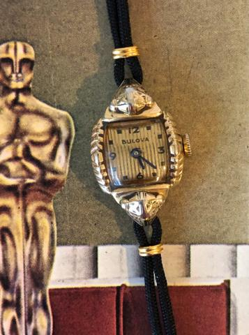 1950 Bulova Academy Award B  watch