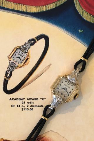 1950 Bulova Academy Award C watch
