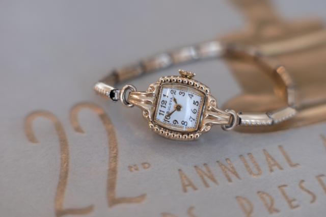 1950 Bulova Academy Award J watch
