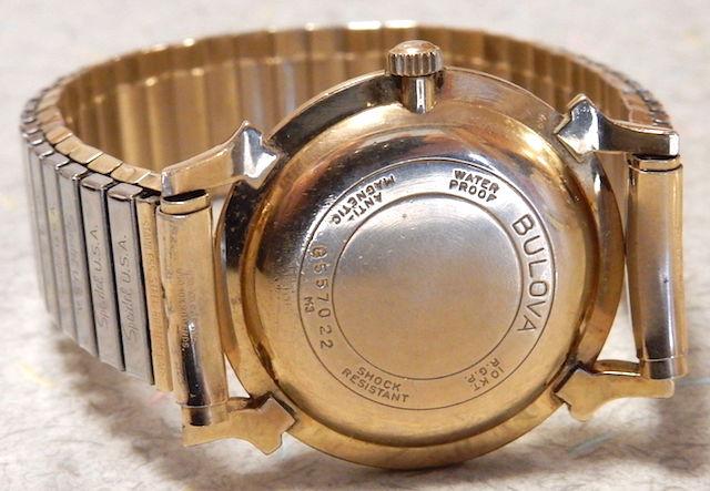 1963 Bulova watch caseback