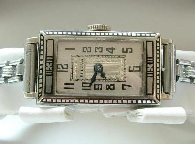 1927 Bulova solid 14k watch