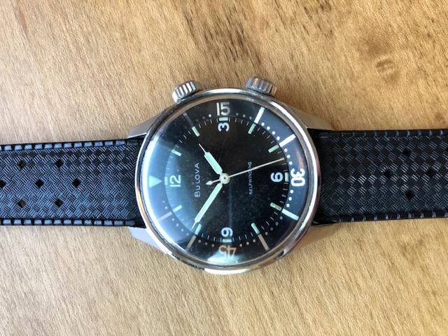 1962 Bulova Snorkel watch