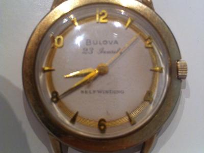 1958 23 Bulova watch