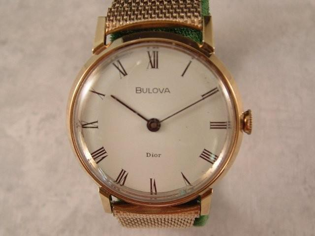 1976 Bulova Dior Men's 17J 11AN
