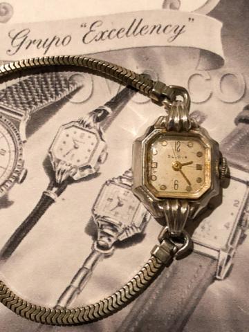 1947 Bulova Her Excellency B watch