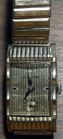 Bulova Watch Front