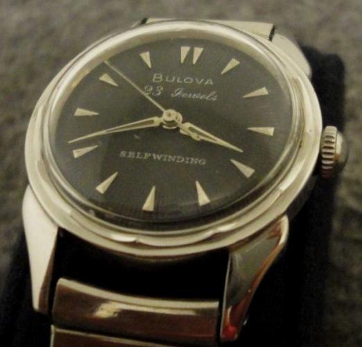 1957 Bulova 23 A watch