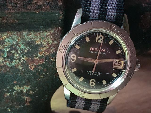 [Snorkel-1965] Bulova watch