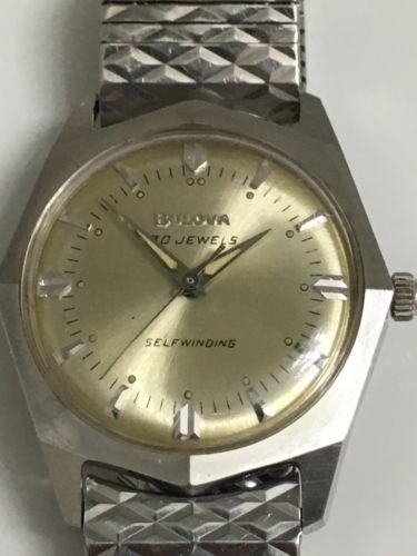 1967 Bulova Commander AO watch