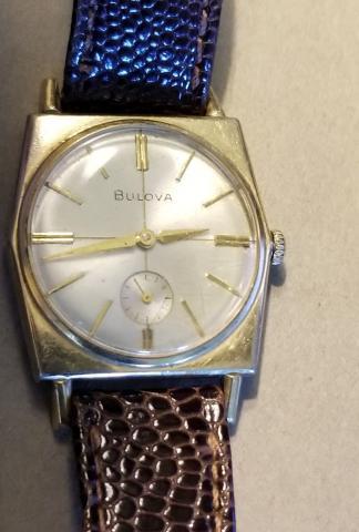 1966 Bulova Banker G watch