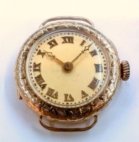 1919 Bulova Rubaiyat watch 14K 1000162