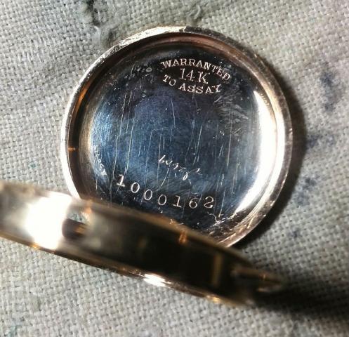1919 Rubaiyat watch 14 gold  1000162
