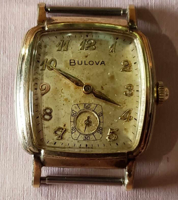 1959 Bulova Senator J watch