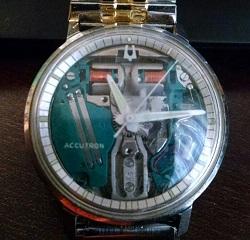 1967 Bulova Accutron Spaceview G watch