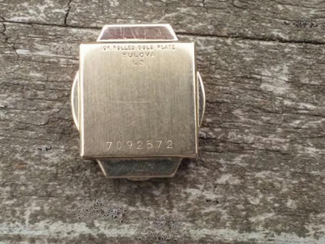[1953?] Bulova watch