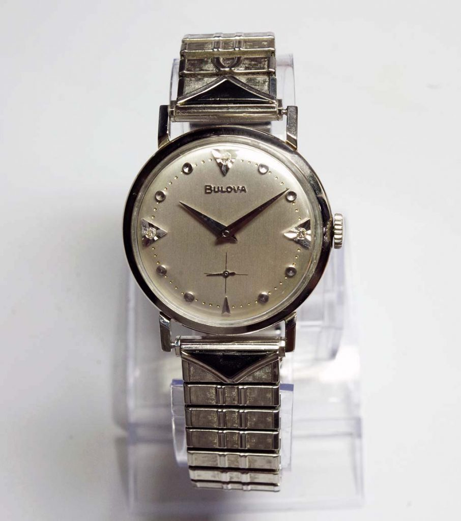 1960 Bulova Beau Brummel RR  watch
