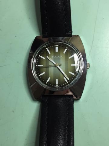 1976 Bulova watch 10210-W