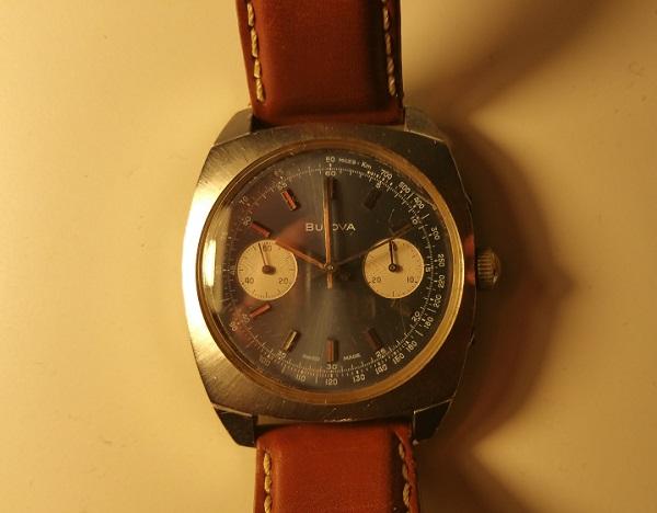 1970 Bulova Chronograph watch