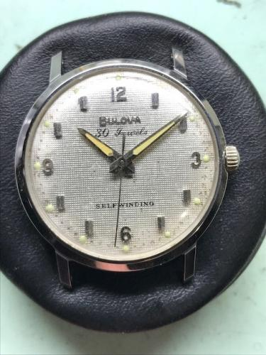 1965 Bulova Commander A watch