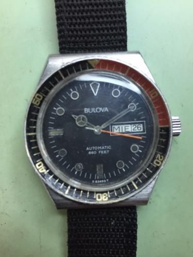 1983 Bulova Divers watch 1