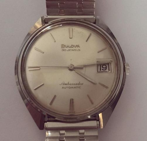 Bulova Ambassador watch front
