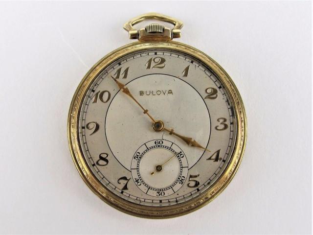 1938 Bulova Tuxedo watch