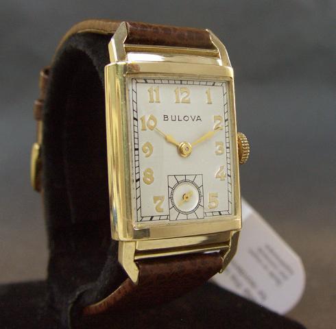 1948 Bulova President watch