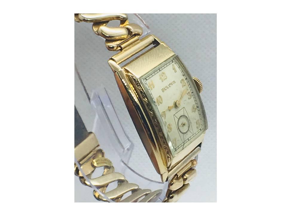 [commodore_1941 side view] Bulova watch