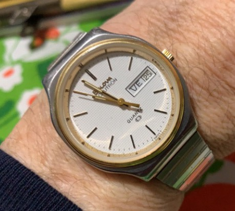 [field_year-1978] Bulova watch