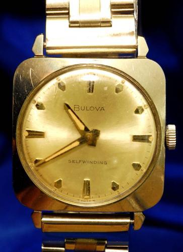 1966 Bulova Clipper B watch
