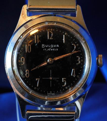 1959 Bulova SVP II watch