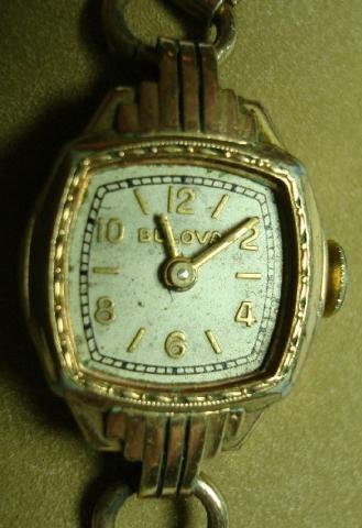 1939 Bulova Lady Bulova watch