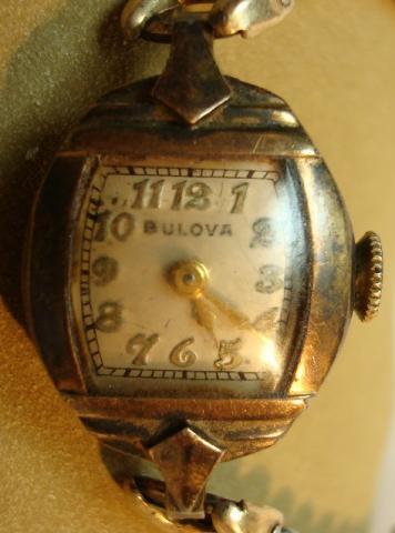 1941 Bulova Goddess of Time watch