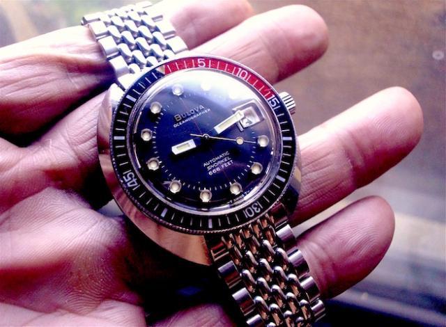 1970 Bulova Oceanographer G  watch