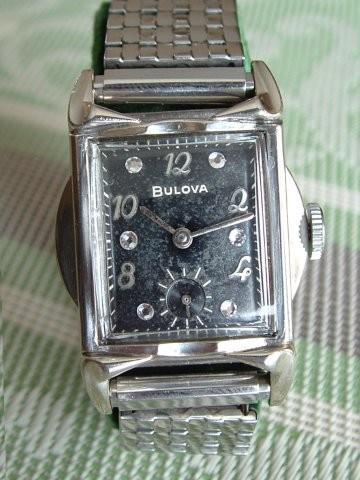 """1957 Bulova Ambassador """"F"""" 17J 11AC"""
