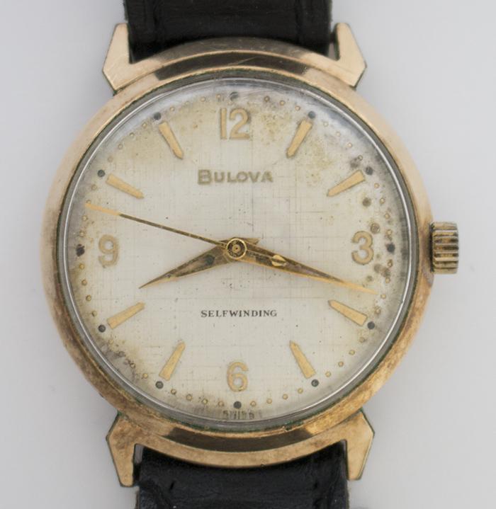 1962 Bulova Jet Clipper G watch