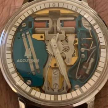 1961 Spaceview Bulova watch