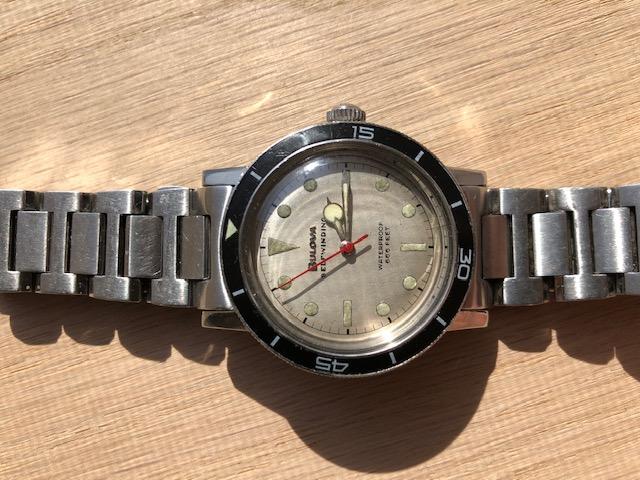 1967 Bulova Snorkel K watch