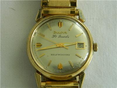 1964 Date King Bulova watch