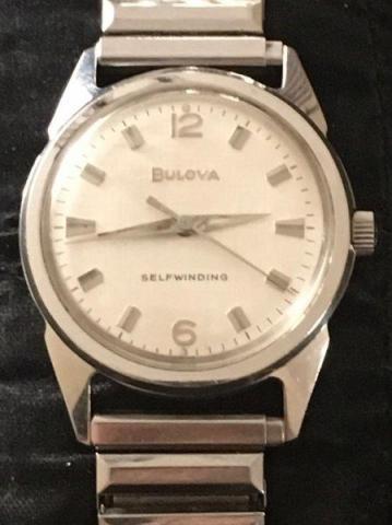 1963 Bulova Jet Clipoer N watch