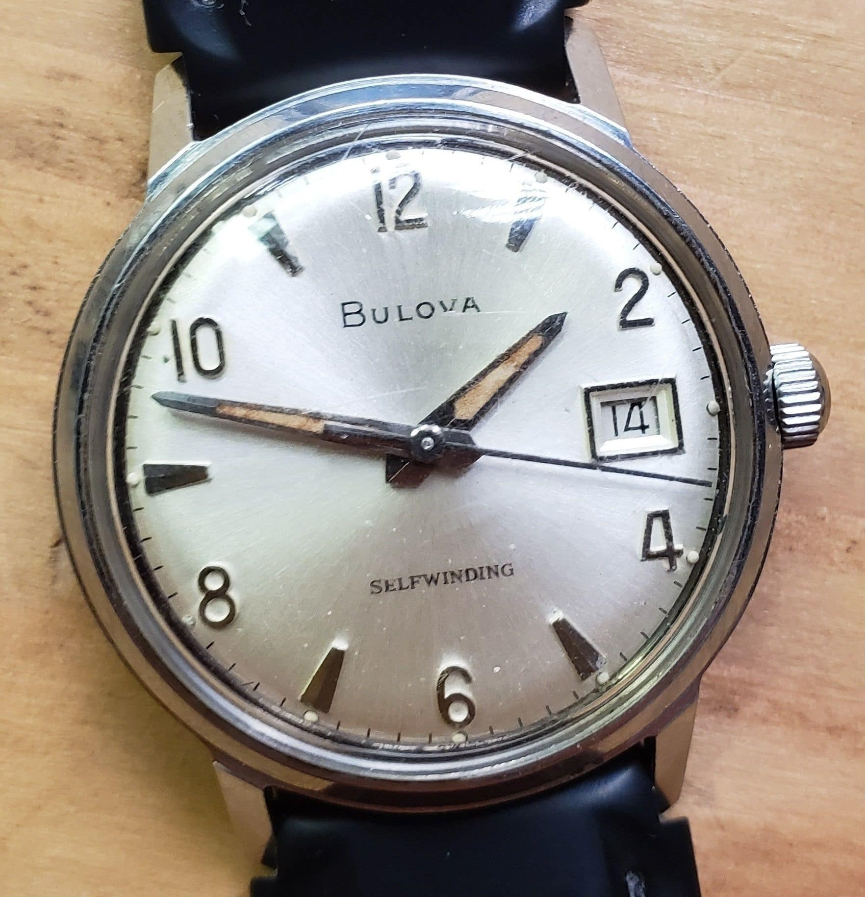 1966 Bulova Date King U